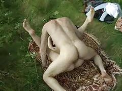On a picnic with her pussy as the main course tubes