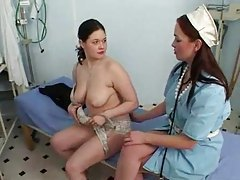 Nurse and patient fist each other tubes
