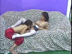 Sexy Asians fingering like crazy to get off tubes