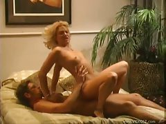 Oral sex and fucking for this slender blonde tubes