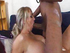 Blonde and big black cock having fun tubes