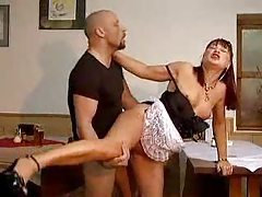 The hot mature maid makes him feel so good tubes