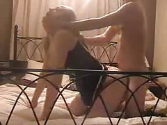 Teen couple makes bedroom fuck film tubes