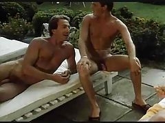 Wild group hardcore scene in classic porn tubes
