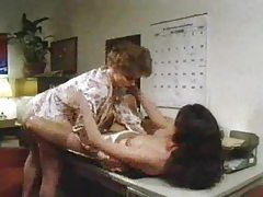 Lesbian seduction with great tit play tubes