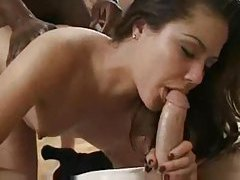 The guys line up to gangbang the slut tubes
