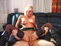 Awesome German milf lets him fuck her box tubes