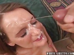 Girls working for cum facials tubes