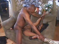 Black slut boned by big black cock tubes