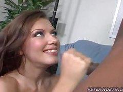 Nice white girl loves his big black cock tubes