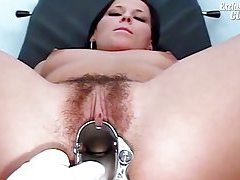 Young hairy pussy girl spread wide tubes