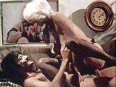 Blonde porn legend Seka in a hardcore fuck scene tubes