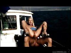 Hot girl fucked on a yacht tubes