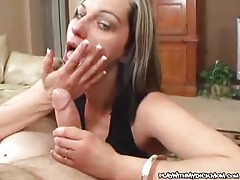 Lusty POV oral action tubes
