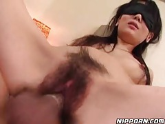 Fucking a blindfolded Japanese girl tubes