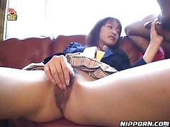 Asian schoolgirl doing a hot blowjob tubes