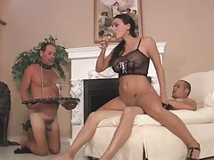 Chastity cuckold watches lady get laid tubes