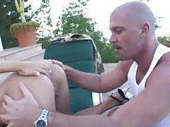 Shiny bikini blonde ass fucked outdoors tubes