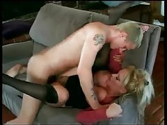 Huge tits milf makes his young cock feel welcome tubes