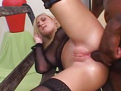 Black guy gets all her hot holes tubes
