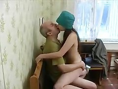Old guy bangs sexy Russian teenager tubes