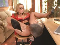 Tongue worship of the squirting Flower Tucci tubes