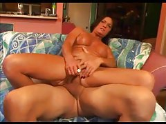 Brunette milf with slight curves ass fucked tubes
