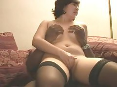 White amateur wife takes black creampie tubes