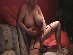 Enormous boobs on the amateur toy slut tubes