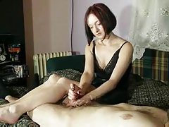 Hot amateur redhead in handjob compilation tubes
