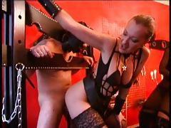 Mistress uses and abuses a guy for her pleasure tubes