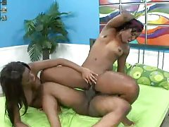 All black in threesome with big cock sex tubes