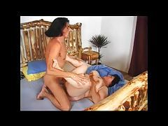 Fat mature Russian fucked hard in her cunt tubes