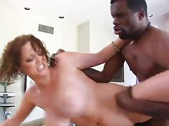 Katie Kox slammed by huge black dick tubes