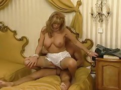 Lace on a tasty milf that loves cock tubes