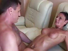 Milf doing it up with two guys tubes