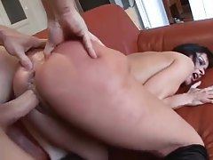 Rough sex and face fucking for gagging tubes