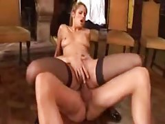 Naughty and hot Euro girl sex in the ass tubes