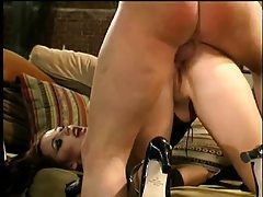 Corset chick kinky play and fucking tubes