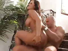 Lisa Ann is charmed by the rich man tubes