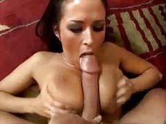 Big cock titjob with Carmella Bing tubes