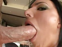 Juelz Ventura gives a wet blowjob tubes
