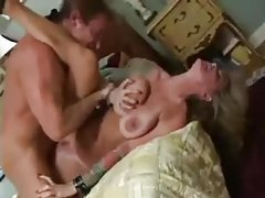 Heavily tattooed milf enjoys two men tubes