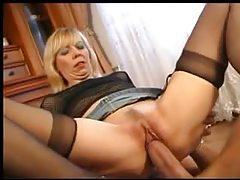 Fat cock fucks this blonde milf tubes