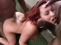 Gangbang and cumshots with Holly Berry tubes