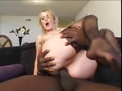 Blonde goes all the way with a black guy tubes