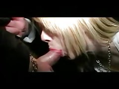 Cute British blonde goes dogging for sex tubes