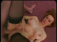 Milf redhead with nice titties rammed in the ass tubes