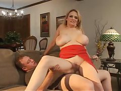 Blonde milf gets a fucking from his big cock tubes