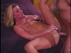 Anal as she vibrates her clit tubes